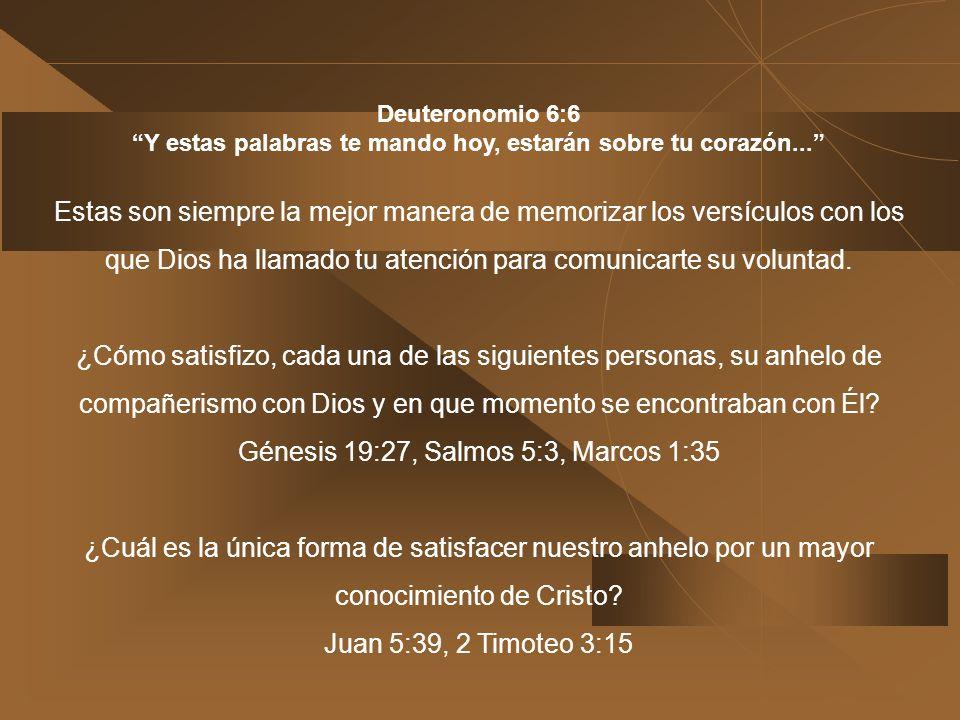 1) 1)Diseña un método. Pide que el Espíritu Santo te revele las maneras. Cópialas en tu libro de apuntes. Guarda un cuaderno de apuntes para escribir