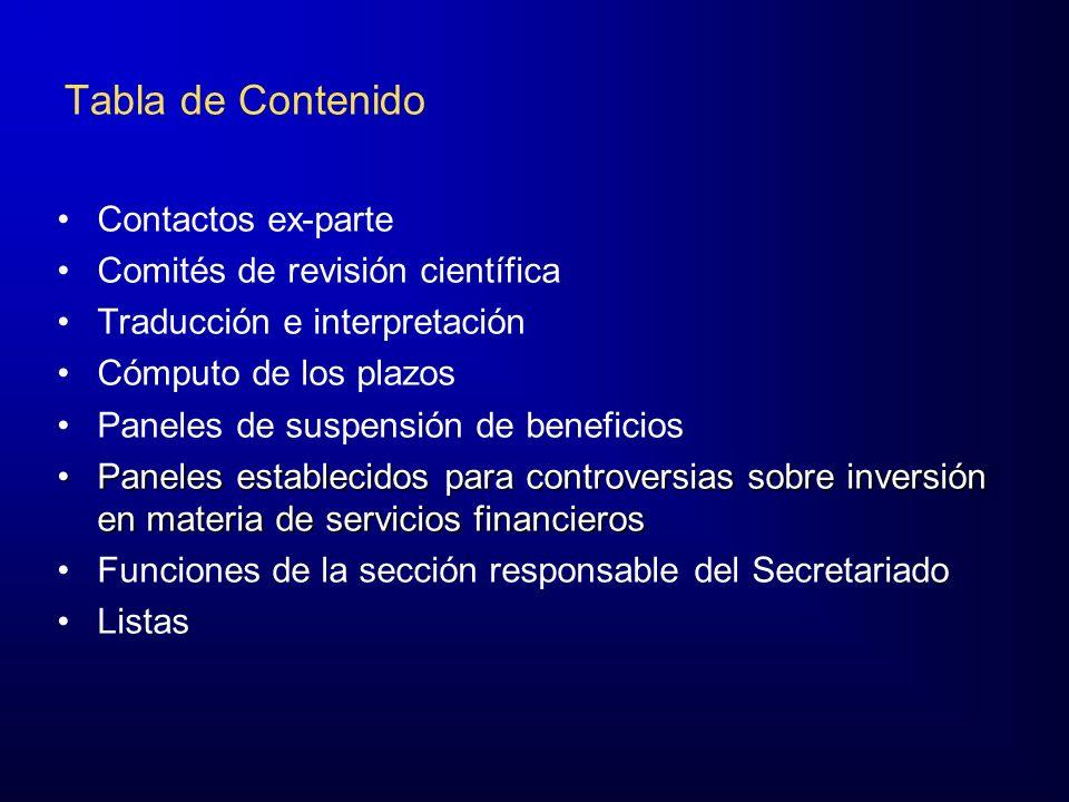 Ámbito de Aplicación Estas Reglas se aplican a los procedimientos de solución de controversias del Capítulo XX, salvo pacto en contrario de las Partes contendientes.