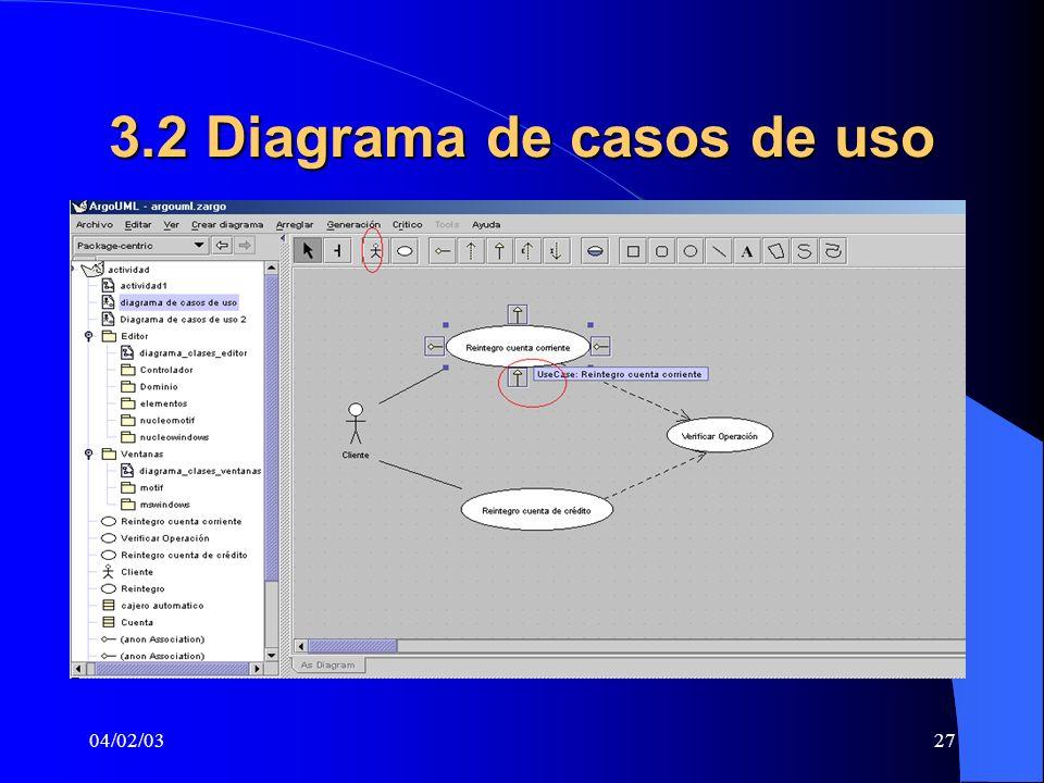 04/02/0327 3.2 Diagrama de casos de uso