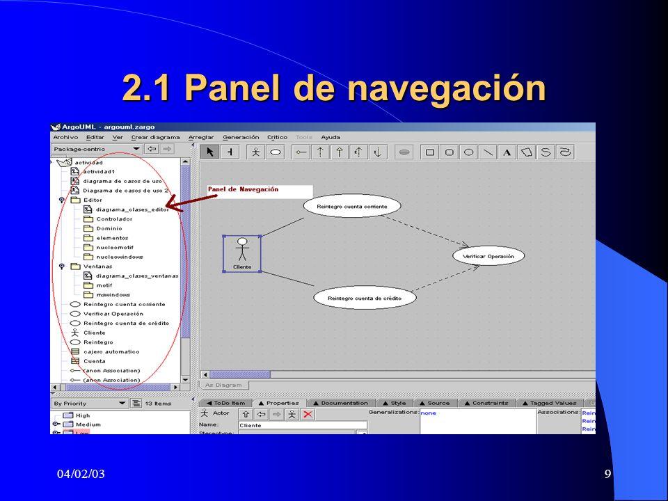 04/02/039 2.1 Panel de navegación