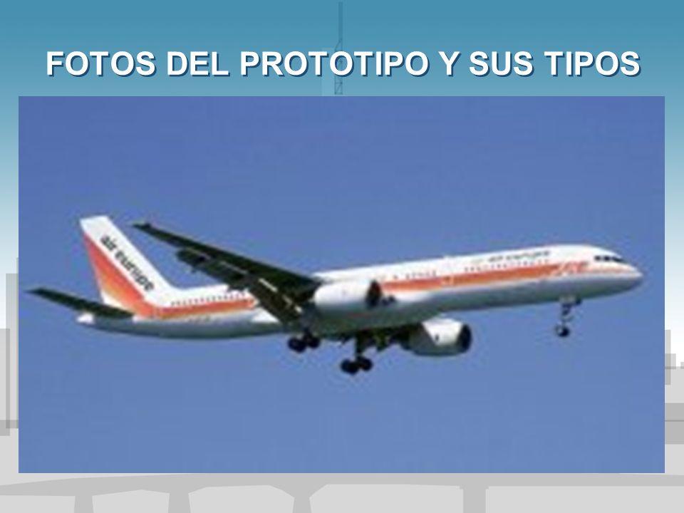 FOTOS DEL PROTOTIPO Y SUS TIPOS