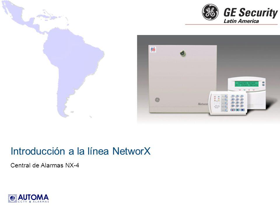 Introducción a la línea NetworX Central de Alarmas NX-4