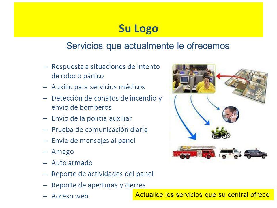 – Respuesta a situaciones de intento de robo o pánico – Auxilio para servicios médicos – Detección de conatos de incendio y envío de bomberos – Envío