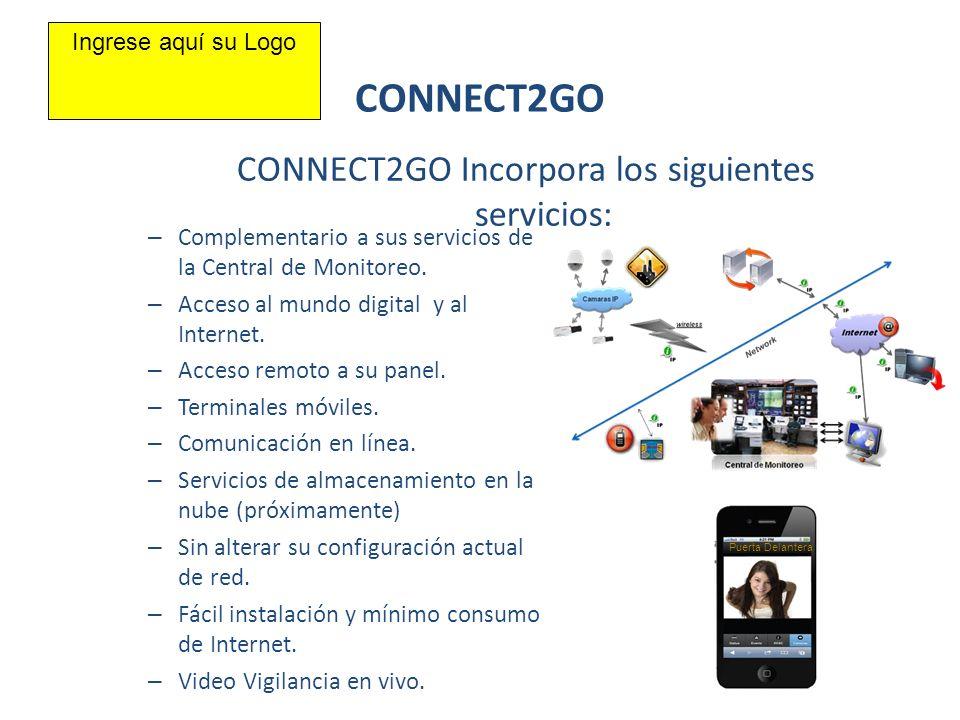 – Complementario a sus servicios de la Central de Monitoreo. – Acceso al mundo digital y al Internet. – Acceso remoto a su panel. – Terminales móviles