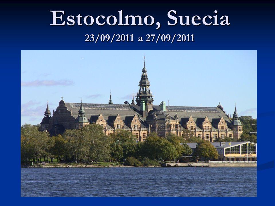 Estocolmo, Suecia 23/09/2011 a 27/09/2011
