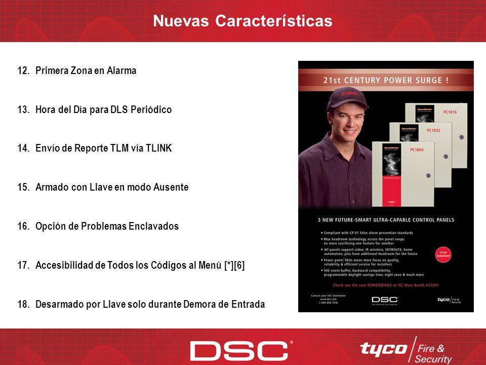 Nuevas Características - Descripción 12.