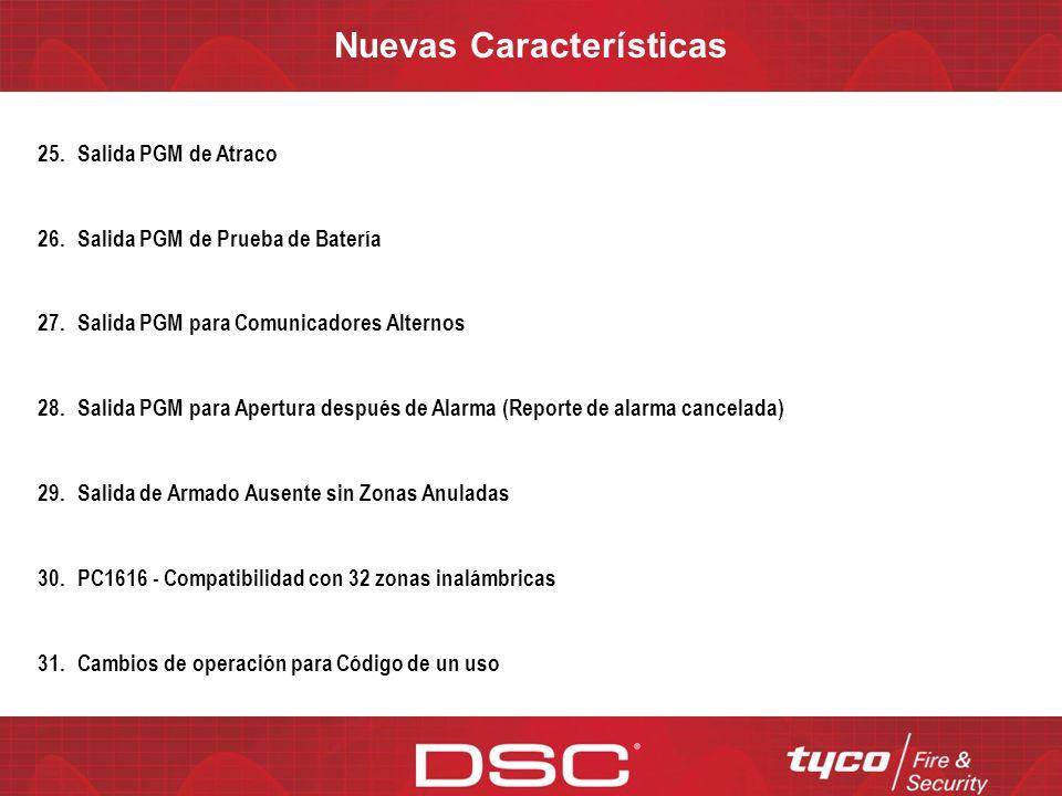 Nuevas Características - Descripción 18.