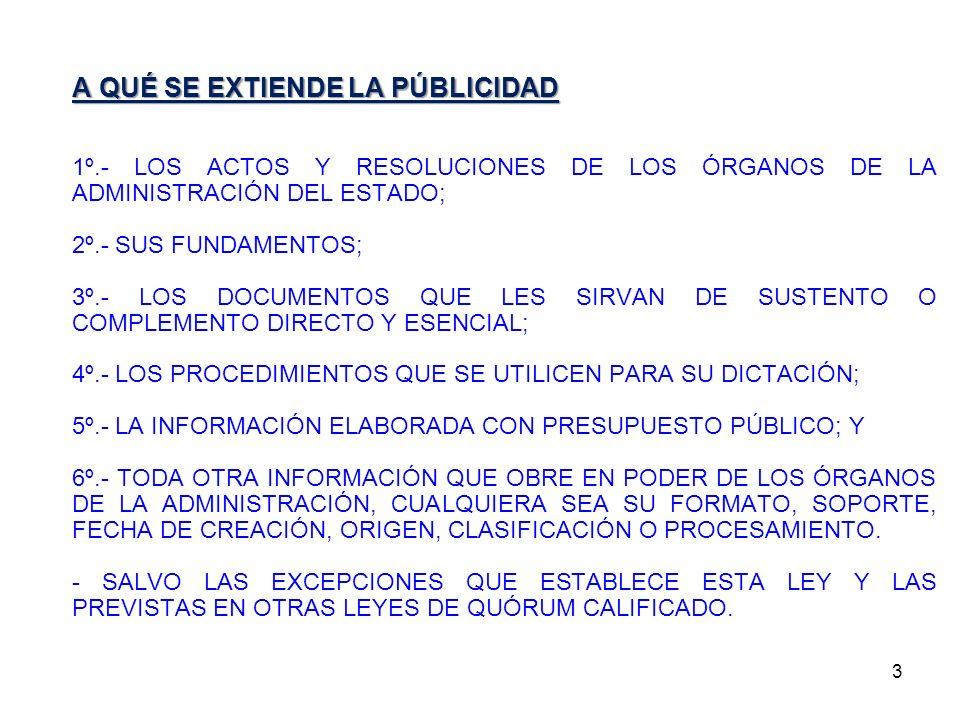 14 TRANSPARENCIA ACTIVA F) LAS TRANSFERENCIAS DE FONDOS PÚBLICOS QUE EFECTÚEN, INCLUYENDO TODO APORTE ECONÓMICO ENTREGADO A PERSONAS JURÍDICAS O NATURALES, DIRECTAMENTE O MEDIANTE PROCEDIMIENTOS CONCURSALES, SIN QUE ÉSTAS O AQUÉLLAS REALICEN UNA CONTRAPRESTACIÓN RECÍPROCA EN BIENES O SERVICIOS.