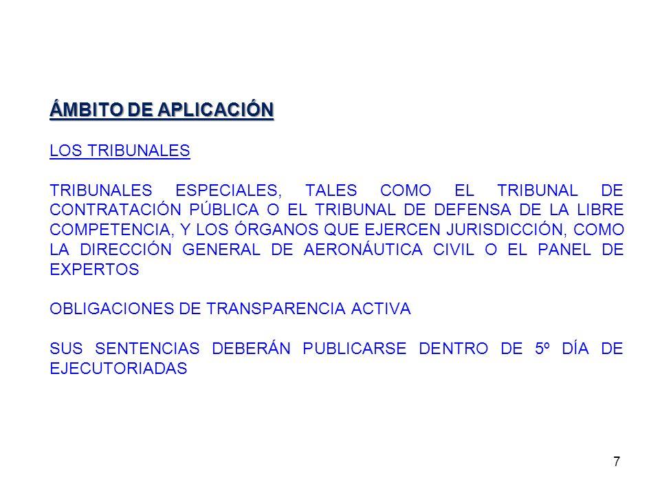 28 FUNCIONES DEL CONSEJO.