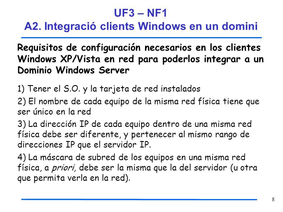 39 Paso 10.Comprueba el efecto de la integración producido en el Servidor 2003.