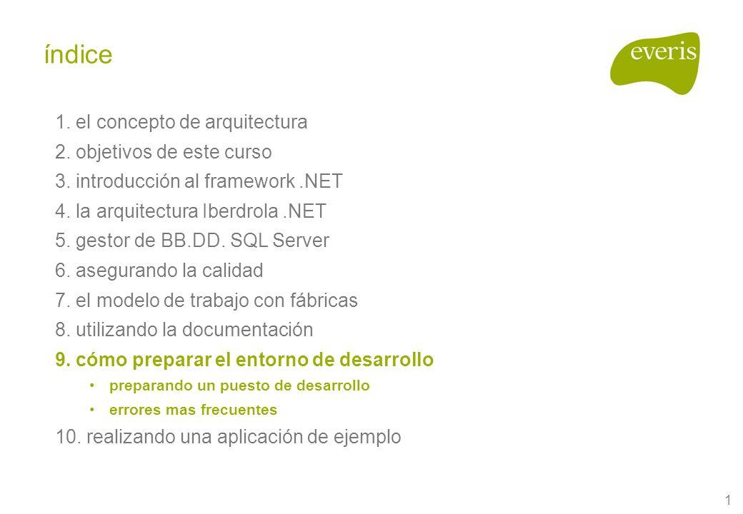 1 1. el concepto de arquitectura 2. objetivos de este curso 3.