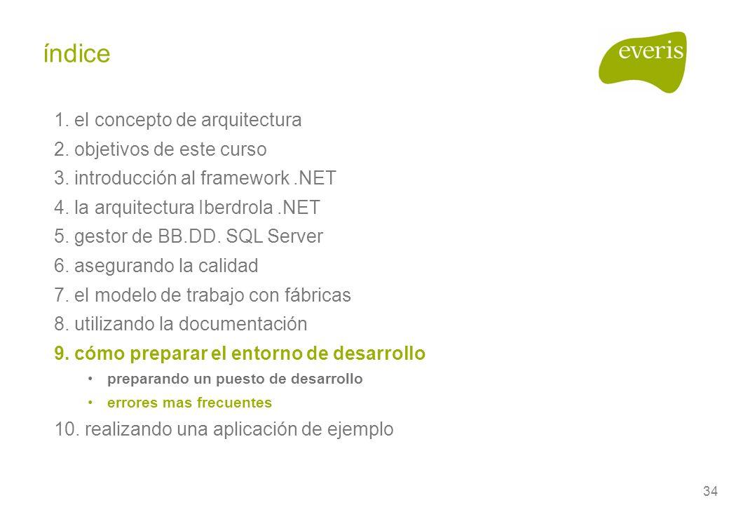 34 1. el concepto de arquitectura 2. objetivos de este curso 3.