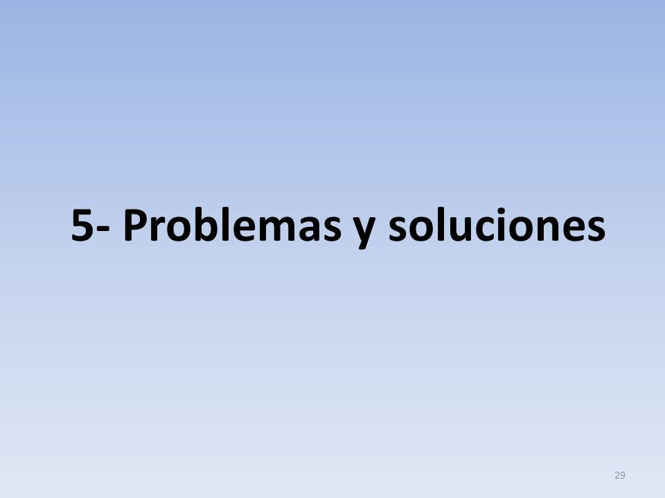 5- Problemas y soluciones 29