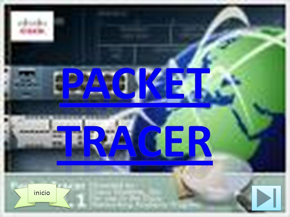 El Packet Tracer es un simulador de redes desarrollado por cisco.