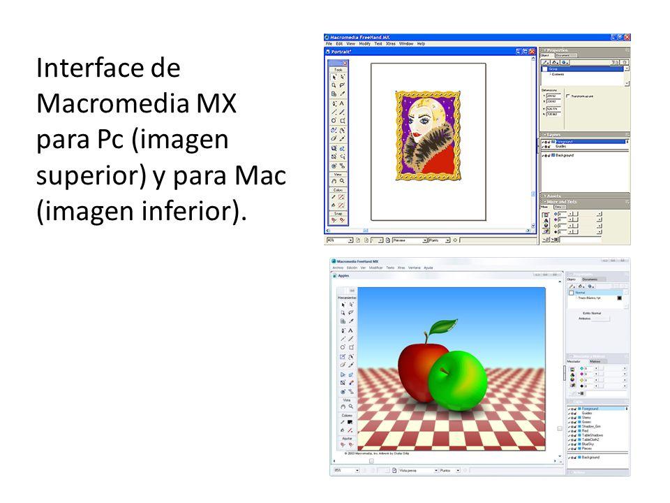 Y para finalizar el eterno rival, la interface de Adobe Illustrator 8.0 (imagen derecha) y la de Adobe Illustrator CS4 (imagen de la izquierda) junto con el item actual de Illustrator (imagen superior).