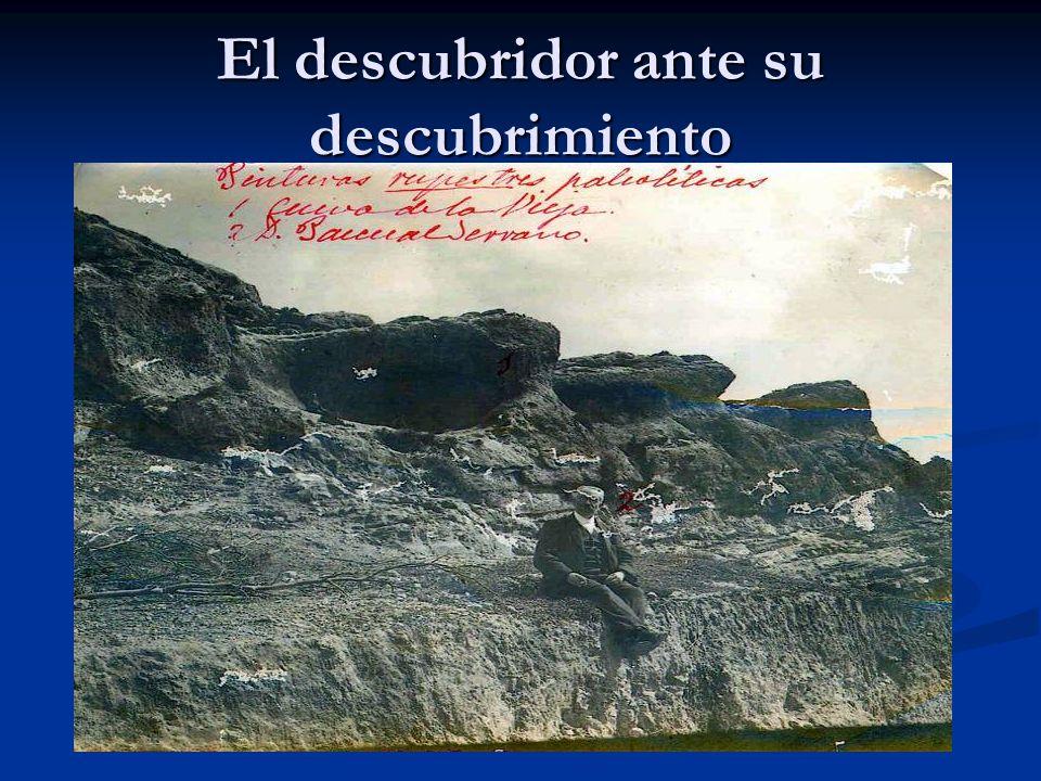 HISTORIA 1910.- Pascual Serrano descubre las pinturas de la Cueva de la Vieja.