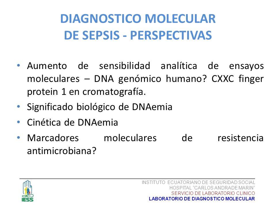 Aumento de sensibilidad analítica de ensayos moleculares – DNA genómico humano? CXXC finger protein 1 en cromatografía. Significado biológico de DNAem