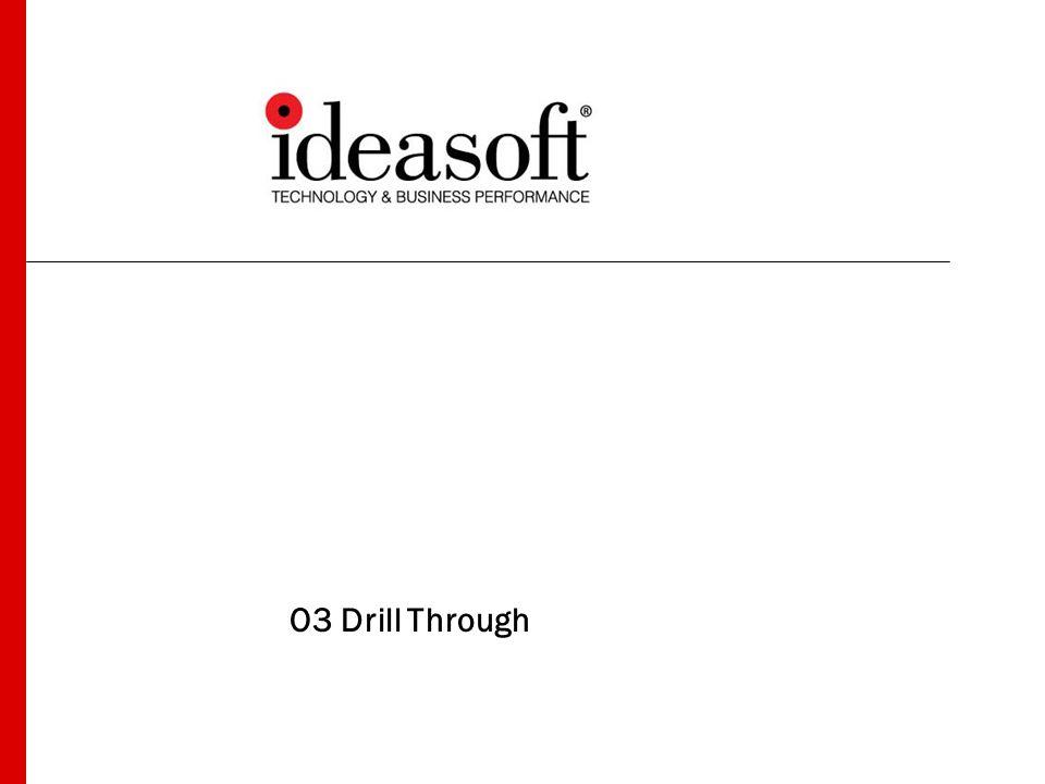 2 El O3 Drill Through El O3 Drill Through permite : Ver información detallada de aquella resumida en cubos de O3.