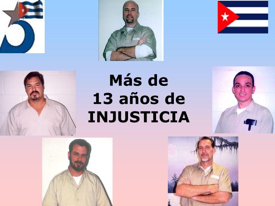 Más de 13 años de INJUSTICIA