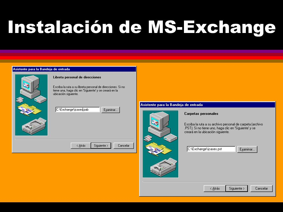 Instalación de MS-Exchange