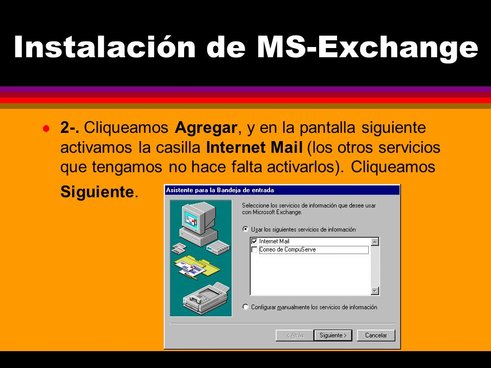 Instalación de MS-Exchange l 2-.