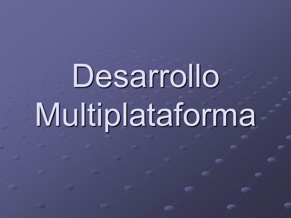 Desarrollo Multiplataforma
