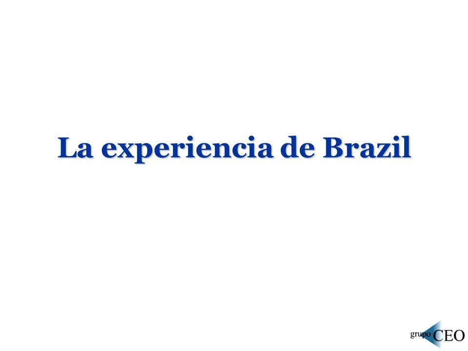 La experiencia de Brazil