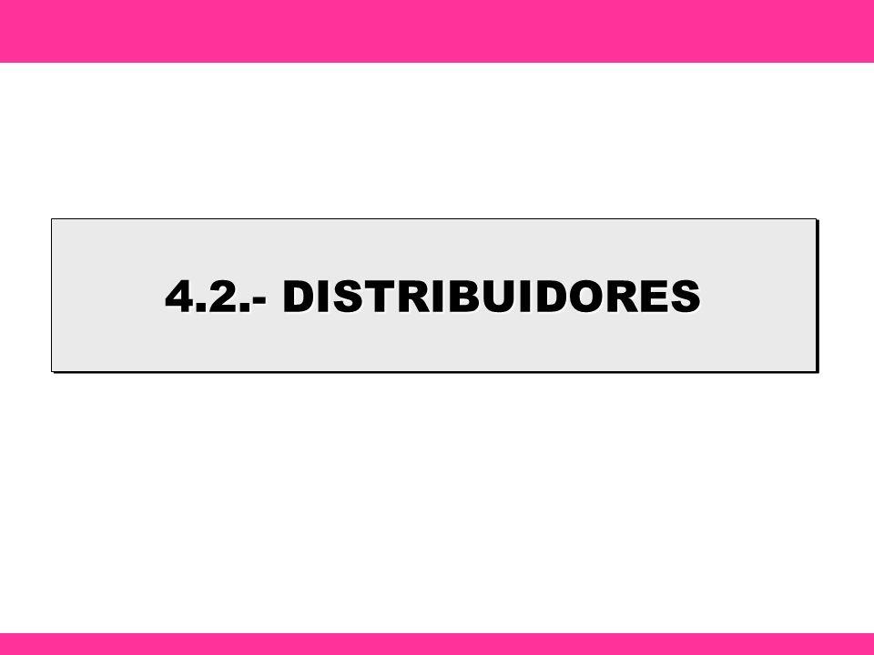 4.2.- DISTRIBUIDORES