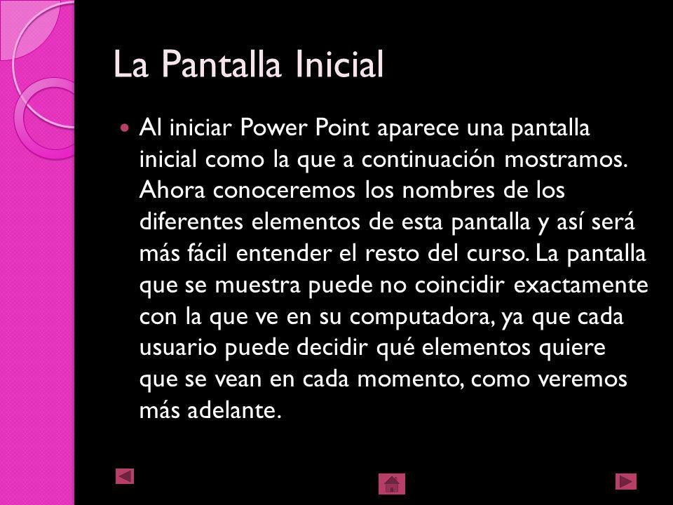 2- Desde Icono De Power Point de Escritorio 2) Desde el icono de PowerPoint del Escritorio, haciendo doble clic sobre él.