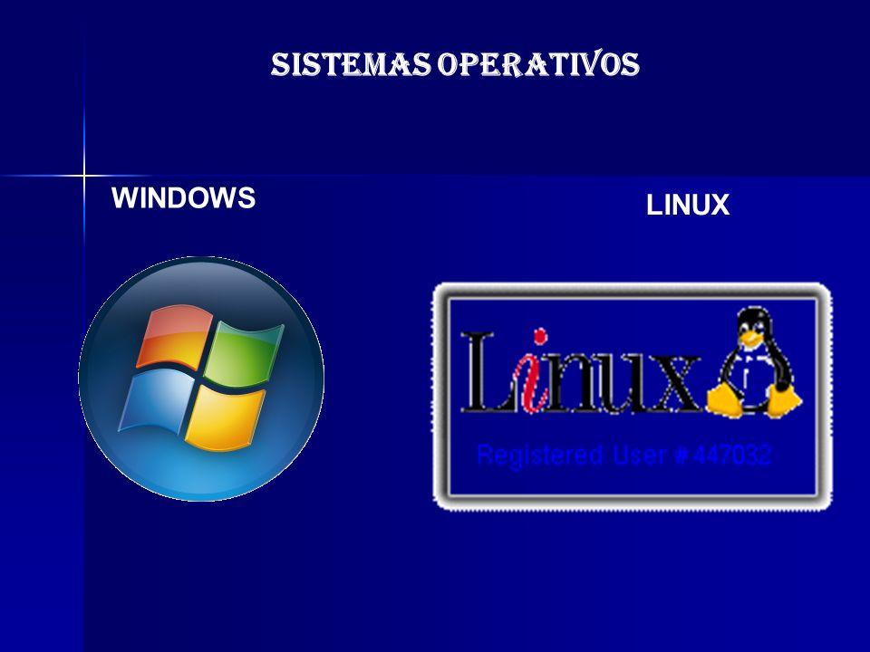 SISTEMAS OPERATIVOS WINDOWS LINUX