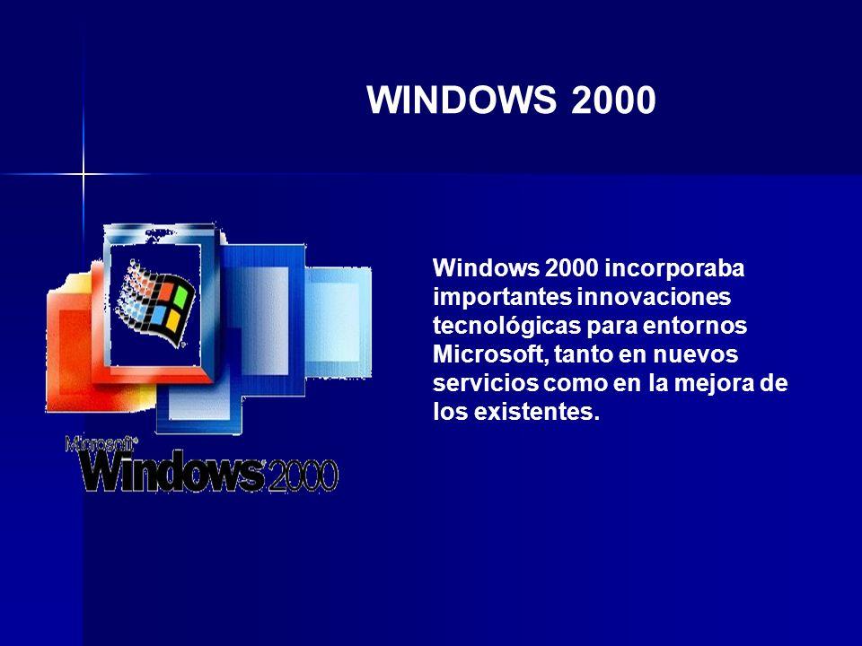 Windows XP usa el núcleo de Windows NT.