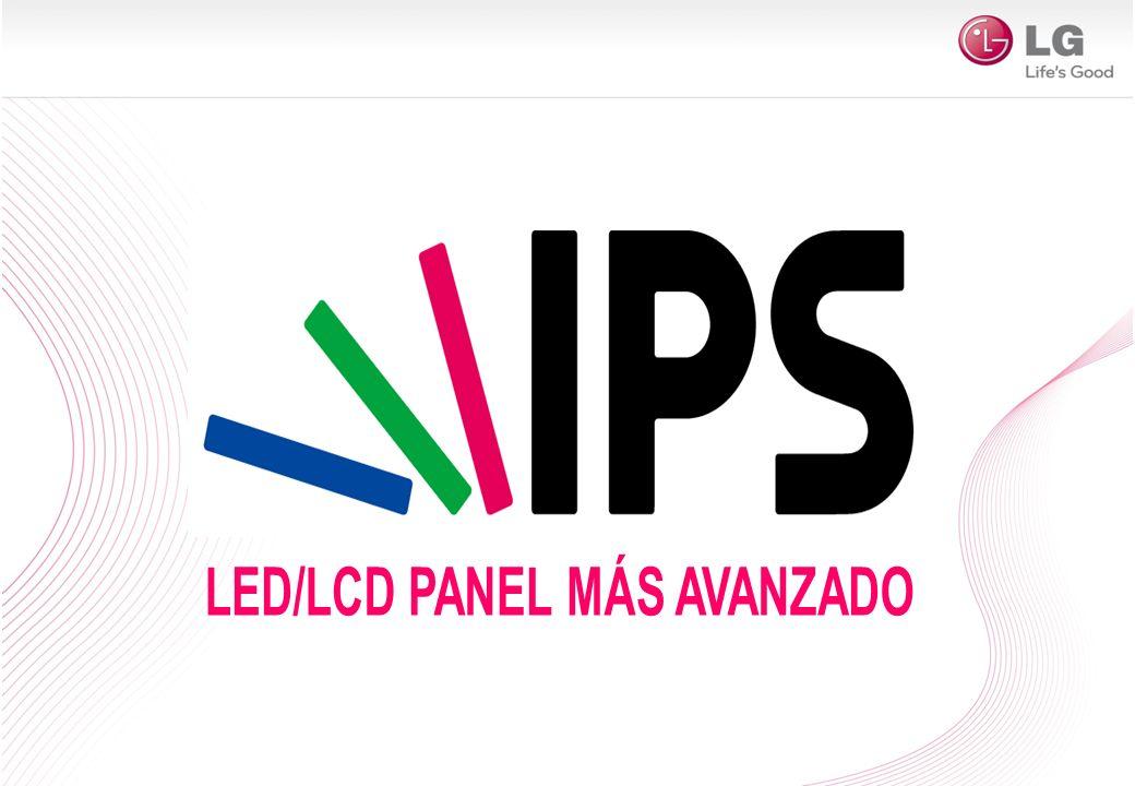 Super-IPS Panel -60˚+60˚ Color Shift (Δuv) Gamma Shift Ratio < 0.02 < 2 % > 0.05 > 40 % Panel LG IPS Paneles VA Puedes ver la misma intensidad de color desde cualquier ángulo horizontal o vertical en los IPS LED / LCD TV Perfecto para disfrutar con la familia y amigos Ventajas Paneles LG IPS