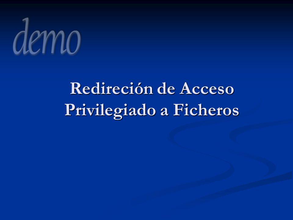 Redireción de Acceso Privilegiado a Ficheros