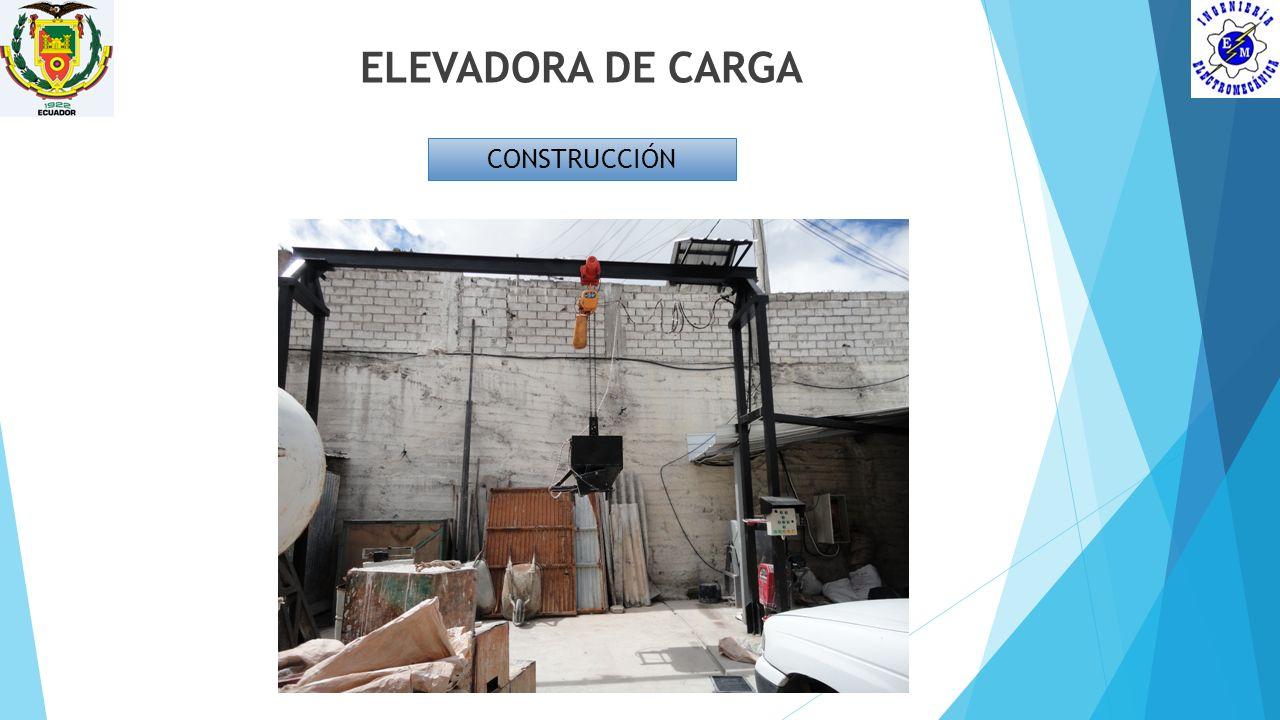 ELEVADORA DE CARGA CONSTRUCCIÓN