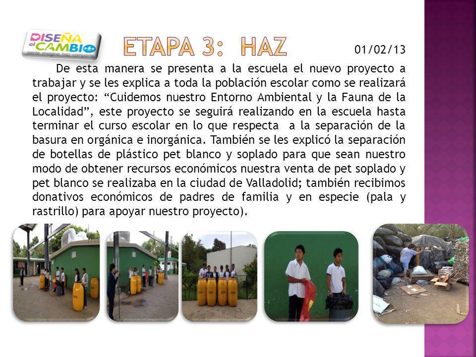 De esta manera se presenta a la escuela el nuevo proyecto a trabajar y se les explica a toda la población escolar como se realizará el proyecto: Cuide