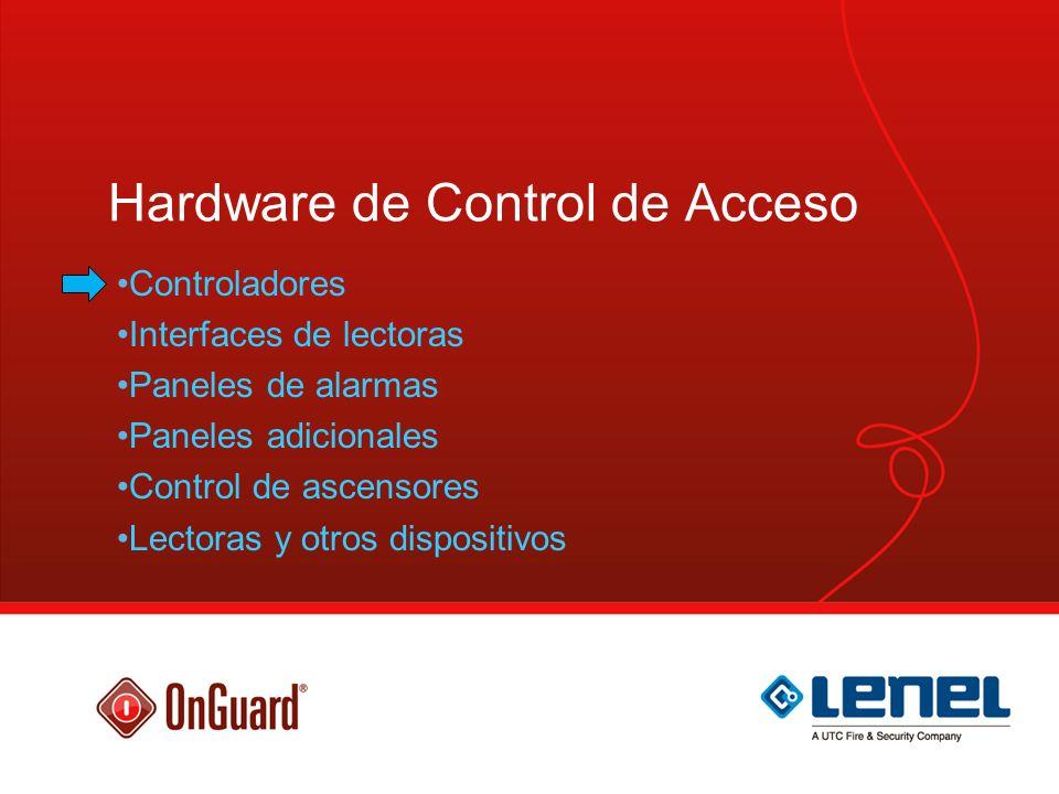 Estructura de control de acceso - Controladores Upstream Downstream