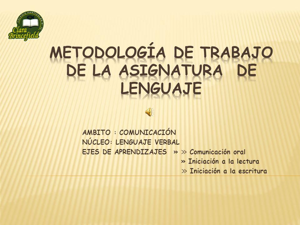 Interrogación de láminas en cada una de las unidades del texto esta se realiza en forma oral.