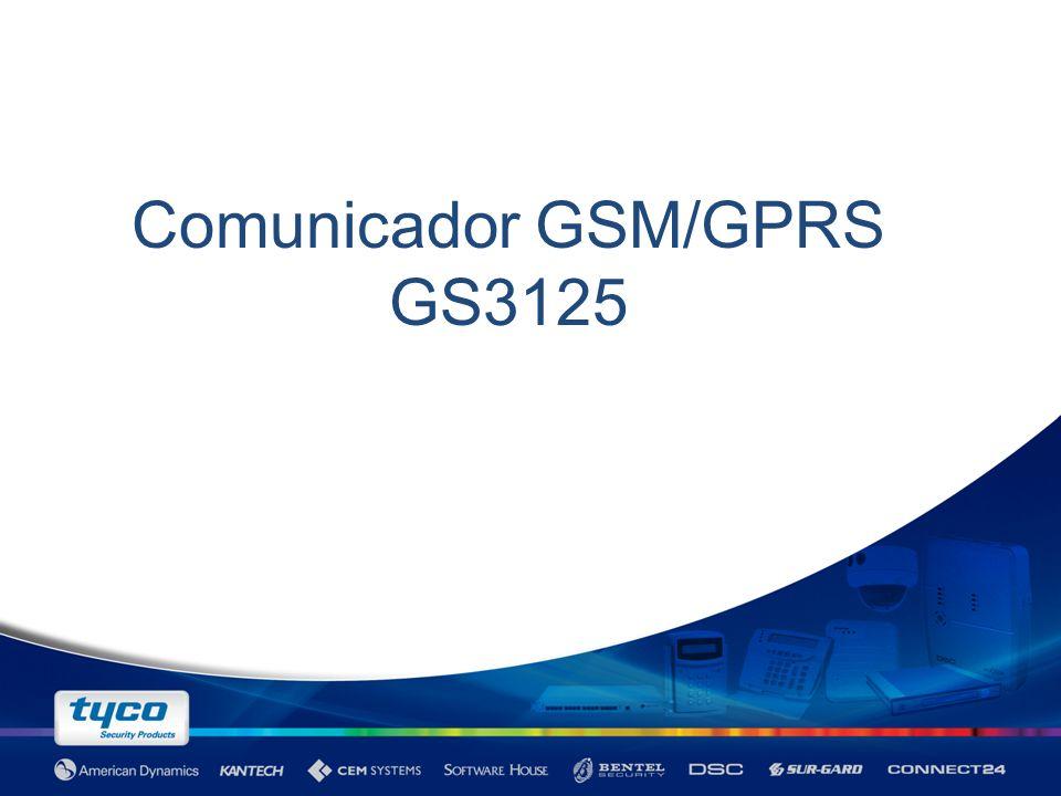 GS3100/GS3120 Evolución de los comunicadores Bentel GSM/GPRS.
