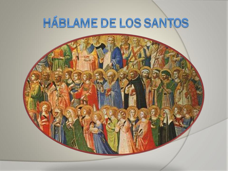 ¿Conoces a estos santos.¿Los puedes identificar. Sta.