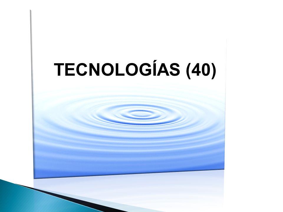TECNOLOGÍAS (40)