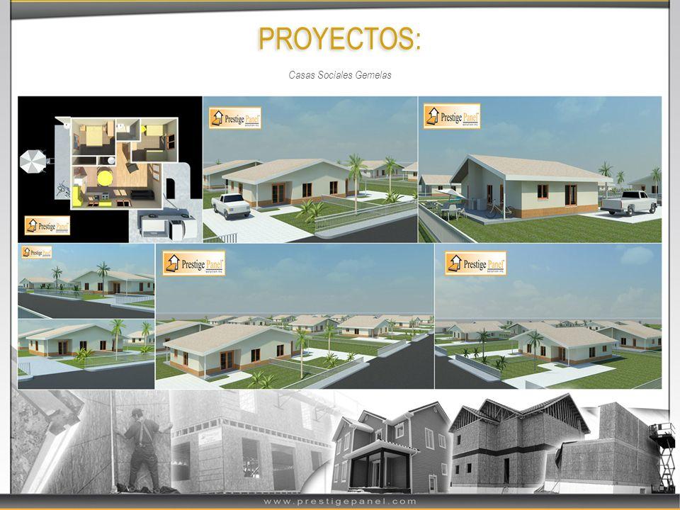 PROYECTOS: Casas Sociales Gemelas