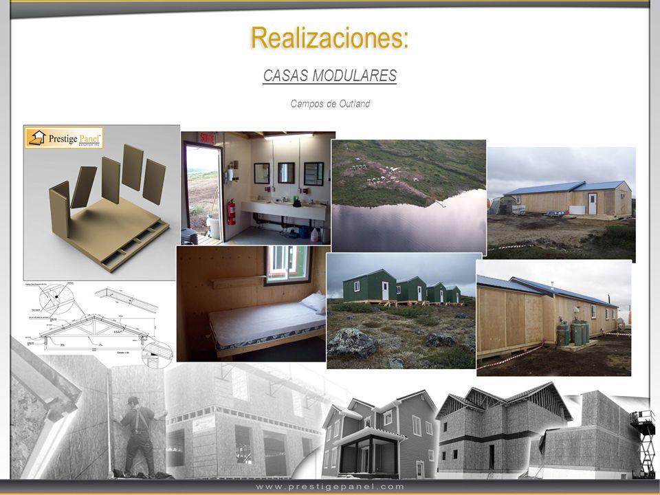 Realizaciones: CASAS MODULARES Campos de Outland