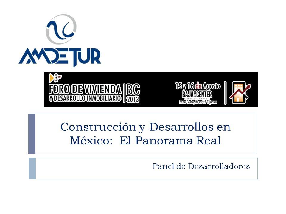 Construcción y Desarrollos en México: El Panorama Real Panel de Desarrolladores