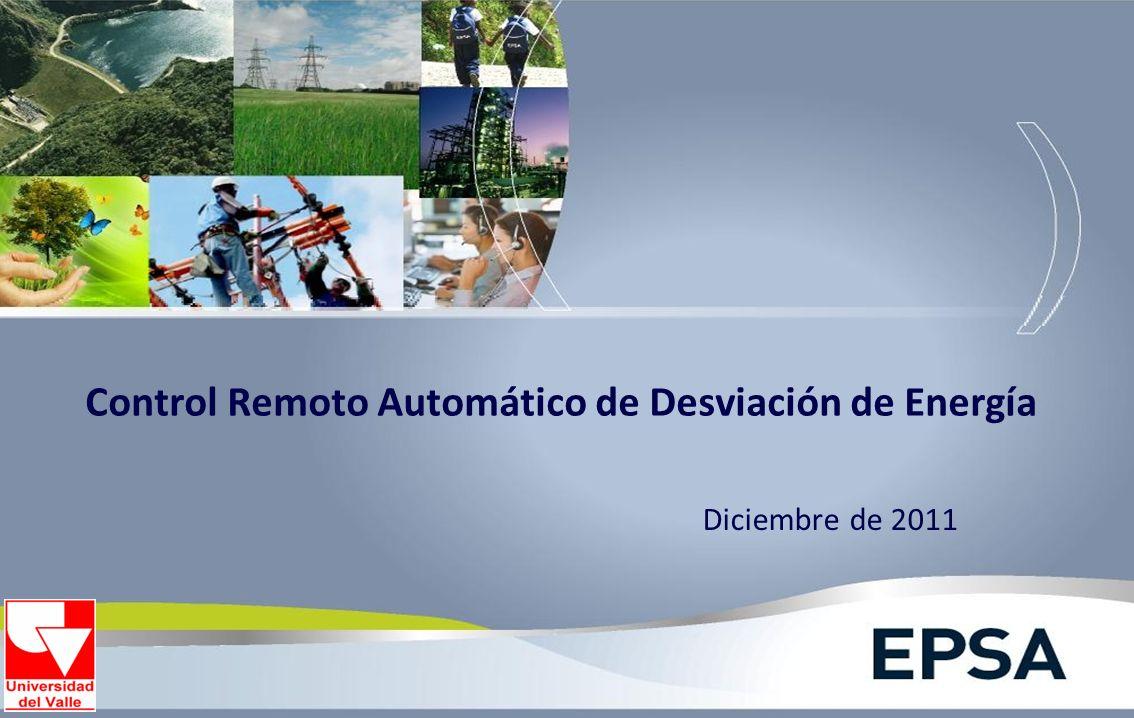 Control Remoto Automático de Desviación de Energía Diciembre de 2011