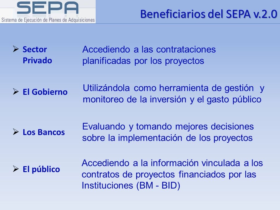 Fin Crear / Editar Proceso - SEPA v.2.0