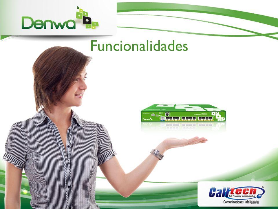 Denwa IP PBX - Simple Fácil de Instalar Fácil de configurar Multiples Idiomas (English, Portuguese, Español) Seguridad Soporte y Servicios Movilidad Estabilidad y Escabilidad
