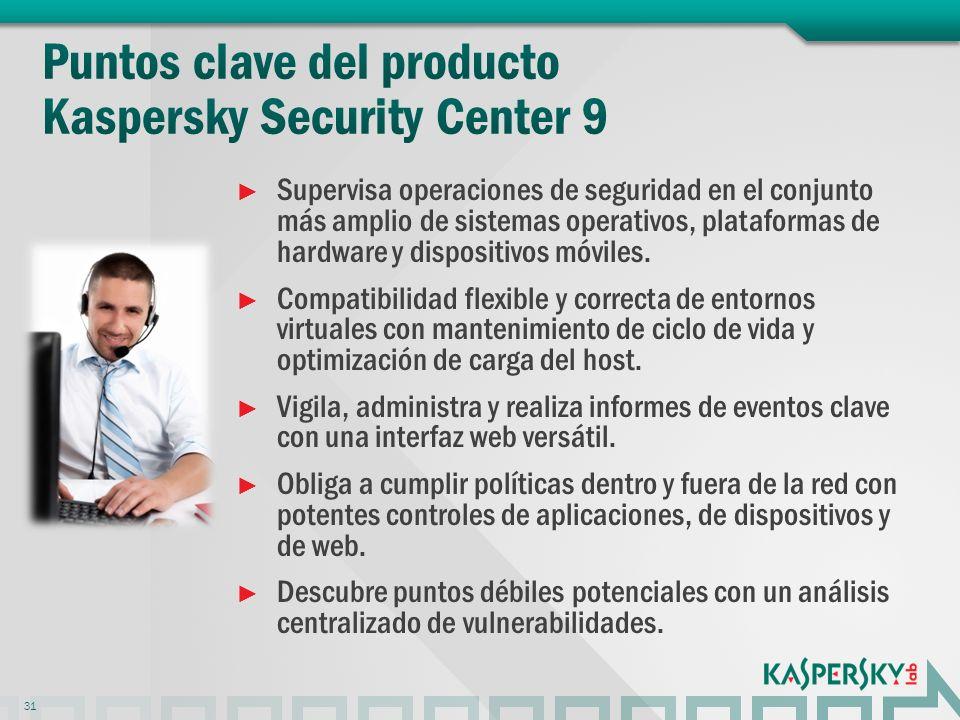 Supervisa operaciones de seguridad en el conjunto más amplio de sistemas operativos, plataformas de hardware y dispositivos móviles.