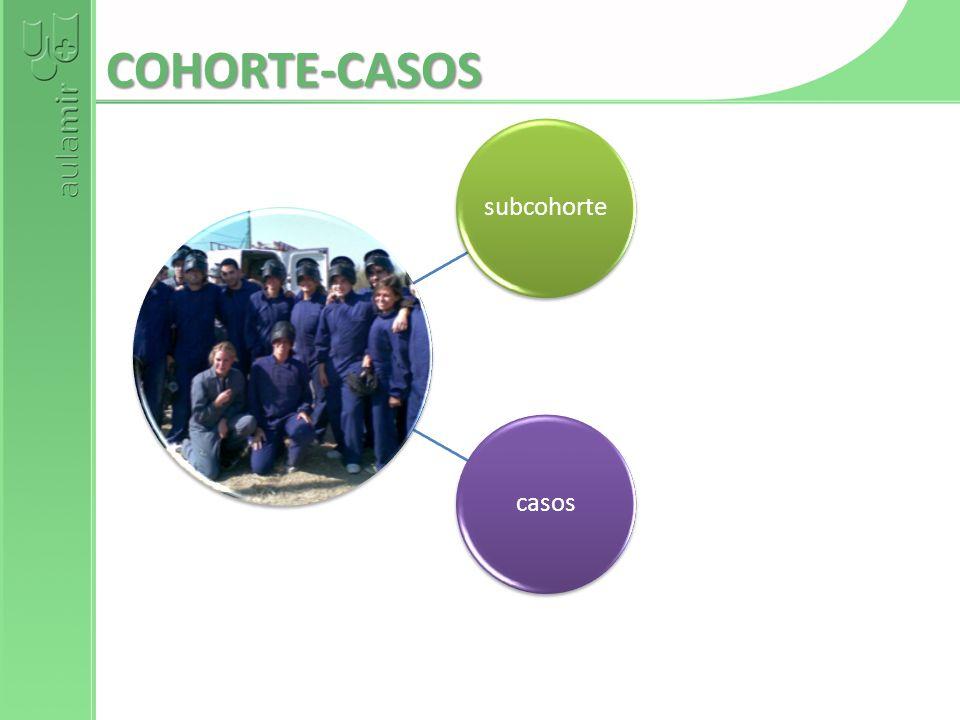 COHORTE-CASOS subcohortecasos