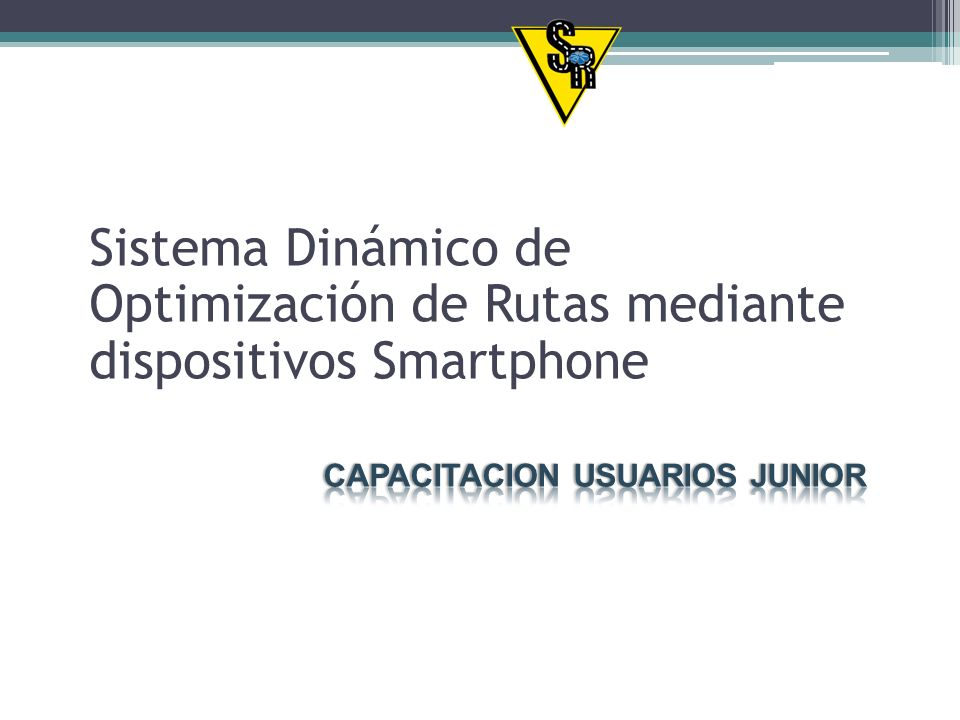 Sistema Dinámico de Optimización de Rutas mediante dispositivos Smartphone