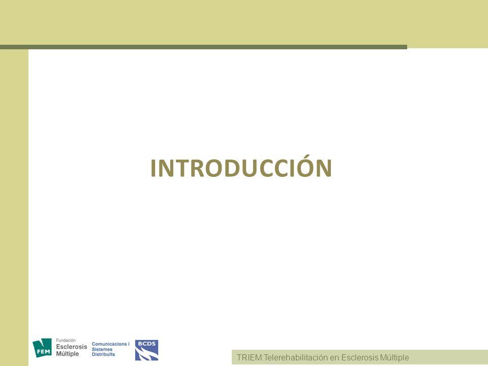 TRIEM:Telerehabilitación en Esclerosis Múltiple TrueCrypt Manual de usuario: http://www.truecrypt.org/docs/tutorialhttp://www.truecrypt.org/docs/tutorial